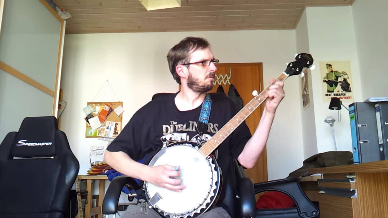 Pogues banjo cover dirty old town 1st try youtube pogues banjo cover dirty old town 1st try hexwebz Image collections