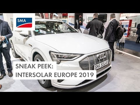Sneak Peek Intersolar Europe 2019