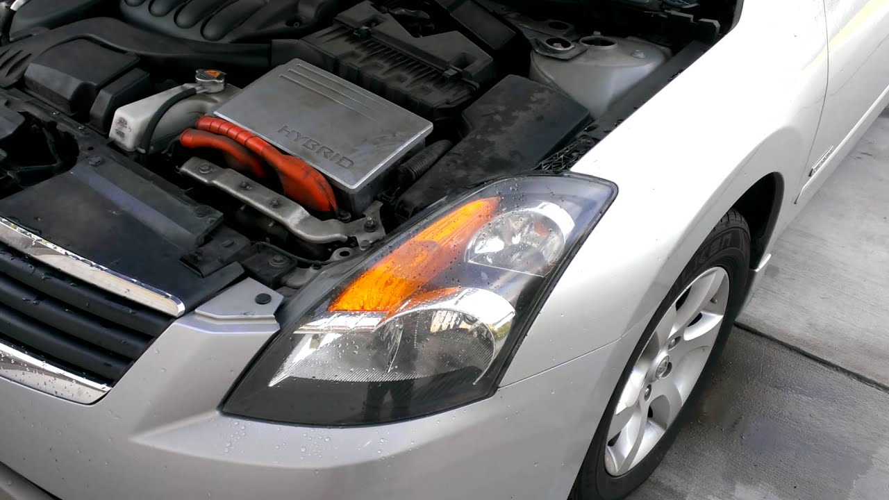 2007 Nissan Altima Hybrid Headlight Replacement Part 1