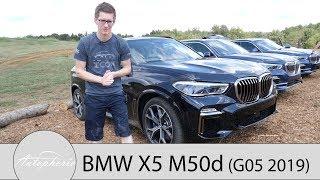 2019 BMW X5 M50d (G05) Fahrbericht / Ausfahrt im M Performance Diesel - Autophorie