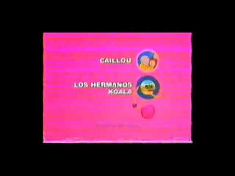 Discovery Kids Latinoamérica - Créditos Zoboomafoo + Enseguida + Intro Caillou - Febrero 2005