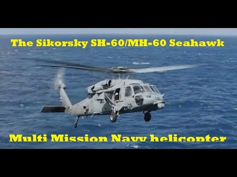 [Pecinta Militer] The Sikorsky SH-60/MH-60 Seahawk Multi Mission Navy helicopter