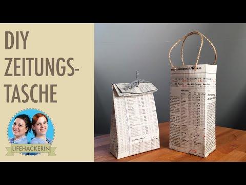 Top Tüten basteln | Papiertüte aus Zeitungspapier - YouTube GG12