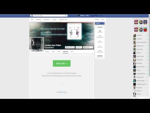 How to add music to your Facebook Page using Bandzoogles embeddable player