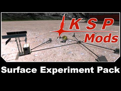 KSP Mods - Surface Experiment Pack
