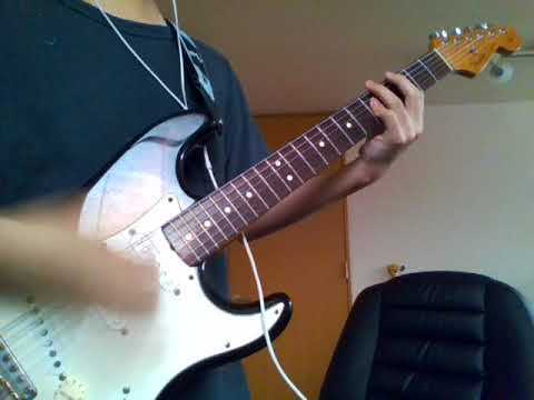can't stop - red hot chili peppers (guitar cover)