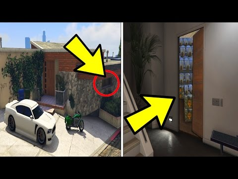 WHAT'S INSIDE THE SECRET ROOM IN FRANKLIN'S HOUSE? (GTA 5)