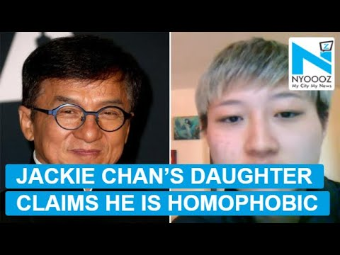 Jackie Chan's daughter Etta Ng claims being homeless ...