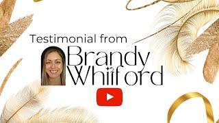 Testimonial for Victoria  by Brandy Whitford