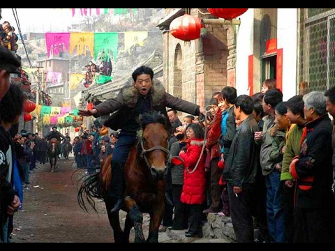 Running of the Horses: Carnival of horse racing held in N China village