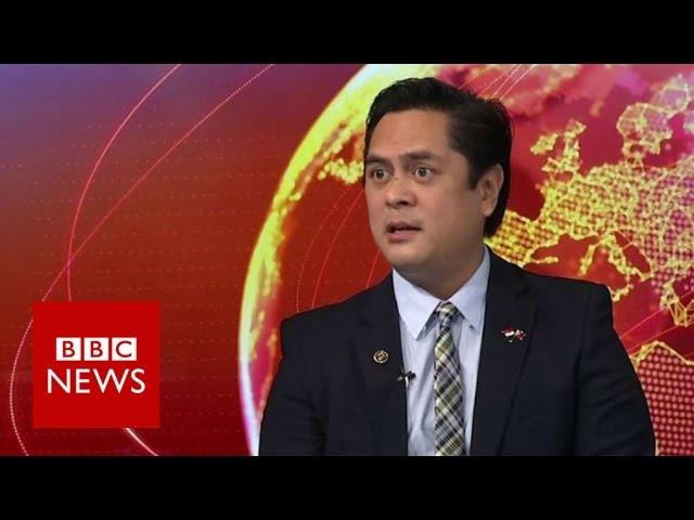 Duterte killings claim 'not literal' - BBC News