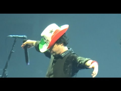 Green Day - Live in Milano Italy (January 14, 2017)
