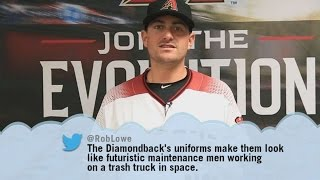 D-backs read mean tweets about their new uniforms