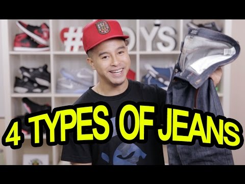 TOP 4 JEANS TO WEAR WITH SNEAKERS