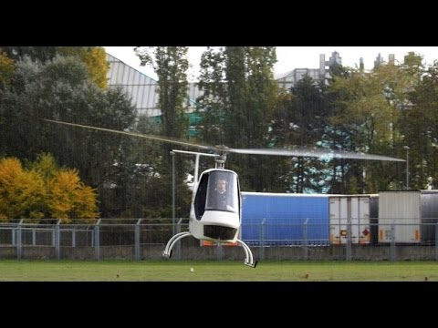 Electric Helicopter Aquinea Volta France