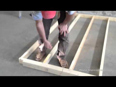 Wood Stud Wall Framing