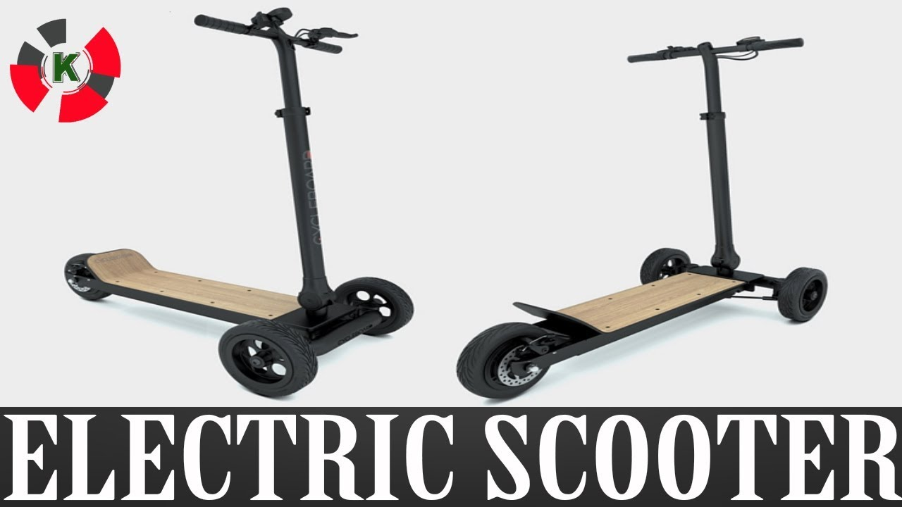 New Invention Cycleboard Electric Scooter
