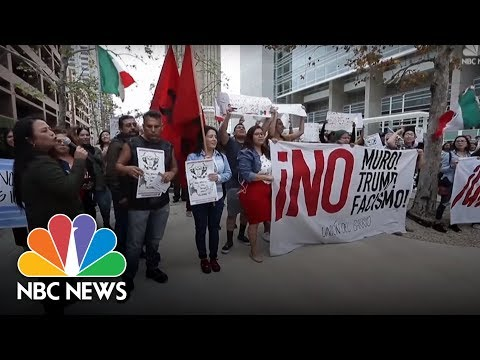 California Steps Up Security Ahead Of  President Donald Trump's Visit To Wall Prototypes | NBC News