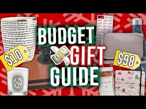LAST MINUTE HOLIDAY GIFT GUIDE 2017: Great Gift Ideas for Every Budget! 2017  Jill Cimorelli