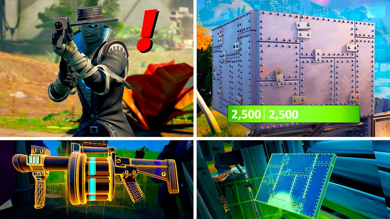 Download Fortnite Season 8 Update: Boss Wrath, Armoured Wall, & Shockwave Launcher Location! (Gameplay)