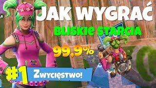 *ŁATWO* JAK WYGRAĆ BLISKIE STARCIA? 99,9% SZANS! Fortnite Battle Royale Polska