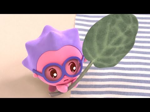 Малышарики - Новые серии - Листочек (81 серия) Развивающие мультики
