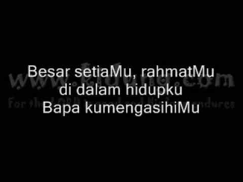 Bapa Kunaikkan Syukur - Niko Njotorahardjo - Lagu Rohani Kristen