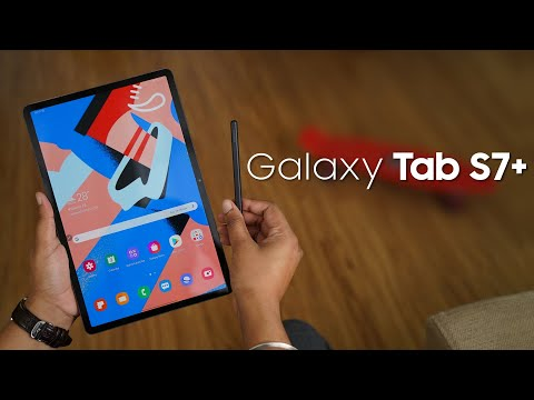 Galaxy Tab S7+: The Android Tablet We've Been Waiting For!