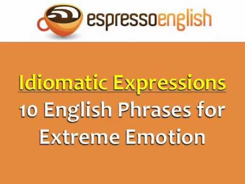 20 examples idiomatic expression