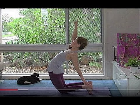 Hatha Yoga for a Supple Spine (Full Class)