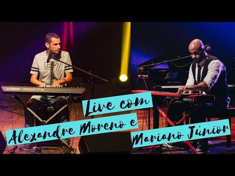 Live com Alexandre Moreno e Mariano Júnior