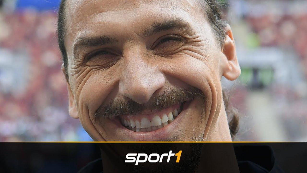 Zlatan Zurück Auf Großer Bühne Seine Besten Sprüche Im Video Sport1