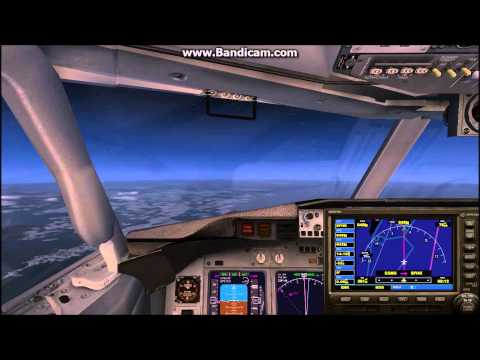 FSX Full Flight ESMS to EFHK Scandinavian Airlines (SAS) Boening 737-800