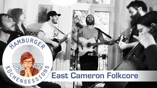"East Cameron Folkcore ""Our City"" live @ Hamburger Küchensessions"