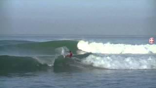 Malia Manuel surfing Highlights at the Trestles 2014