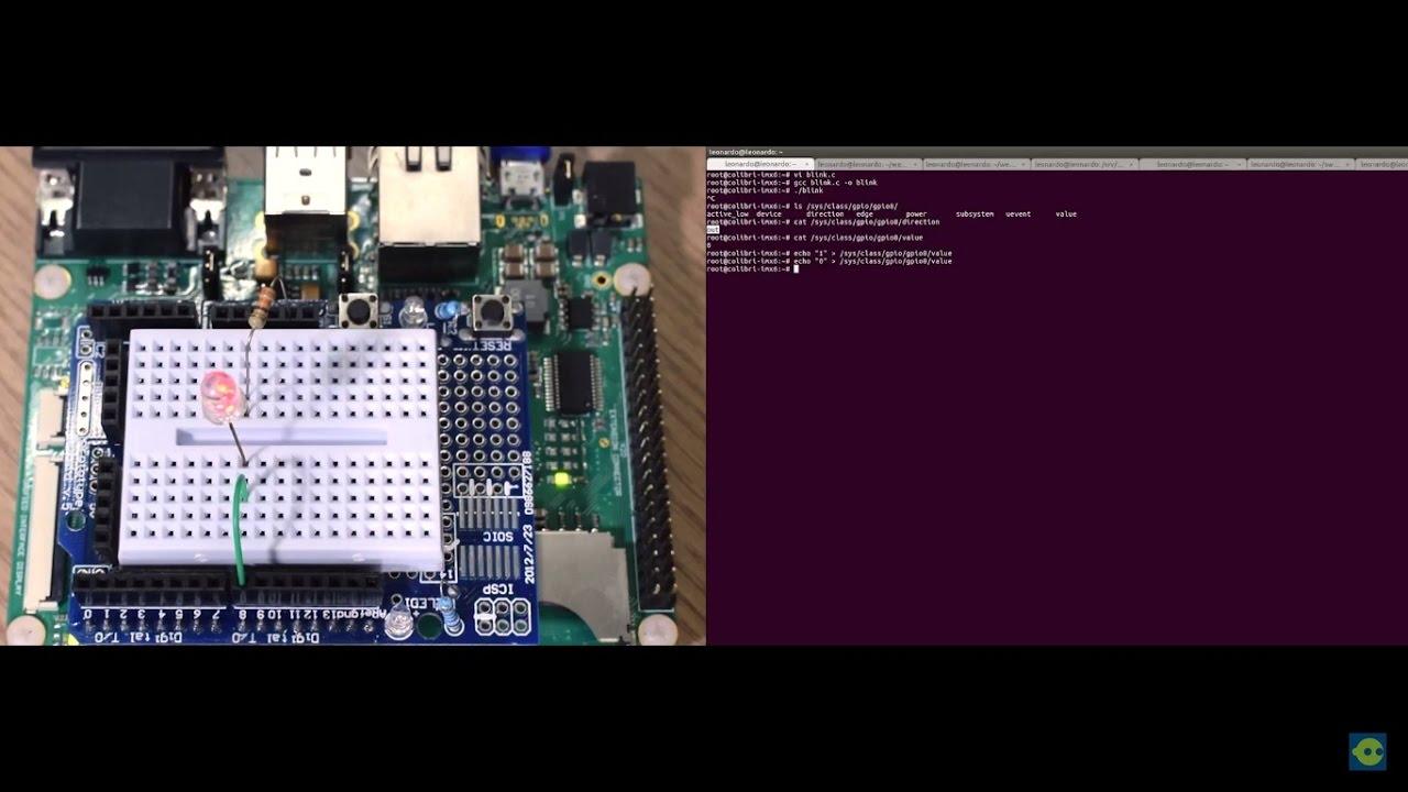 Usando GPIO e PWM no Linux Embarcado - Embarcados
