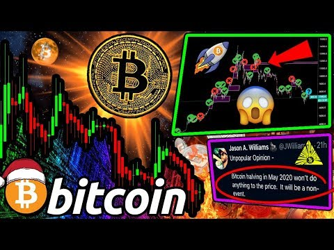 "BITCOIN Santa Claus RALLY Possible?! $BTC Halving A ""Non-Event?"" HODLers Are INSANE?!"