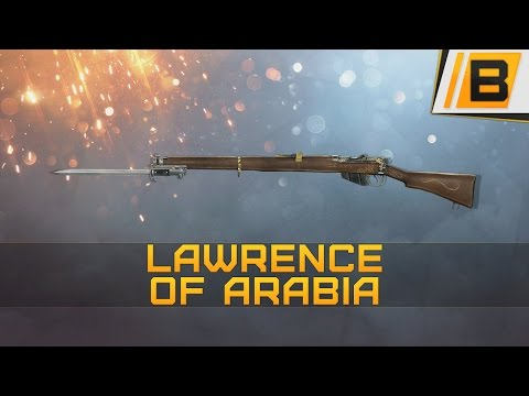 BF1: A demonstration of the lawrence of arabia, my favorite weapon of choice | Scout gameplay
