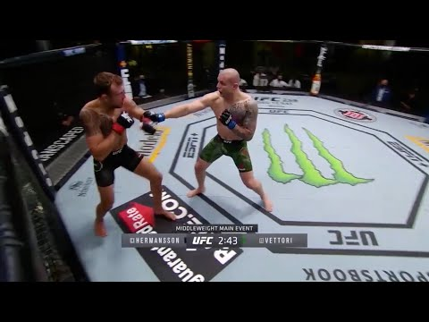 UFC on ESPN 19: Hermansson vs. Vettori – Highlights