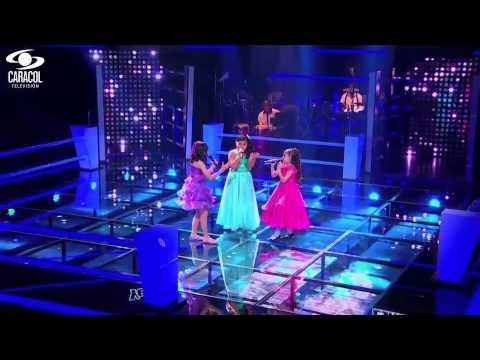 Esmeralda, Laura y Yendy cantaron 'Un mundo Ideal' de Ricardo Montaner– LVK Colombia – Batallas – T1