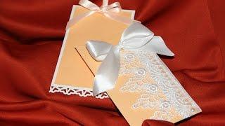 Свадебные приглашения♥своими руками♥МАСТЕР КЛАСС