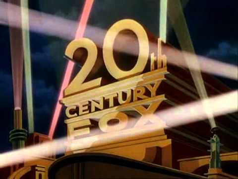 Twentieth Century Fox Logo  1953  - In Color