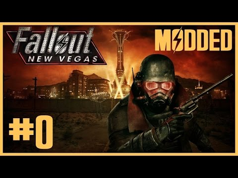 Fallout New Vegas Hardcore Modded Playthrough Part 0 - Alternate Start Character Creation