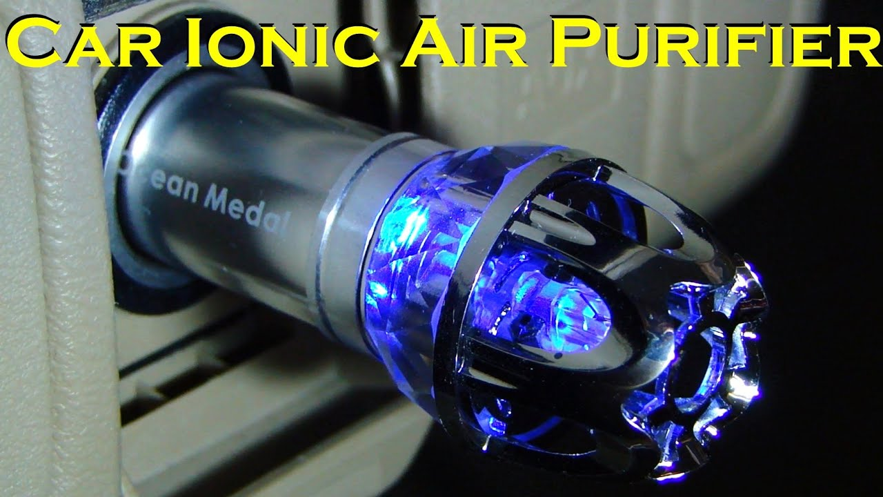 Wild Air Cleaners For Cars : Car ionic air purifier portable unit youtube