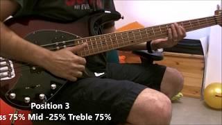 Music Man Stingray Special HH 5 Stings Bass - Demo