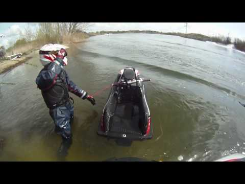 Benelli S4 Matias and Søren take a Race in Esbjerg lake