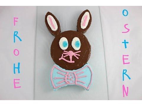 Schoko-Osterhasen-Kuchen / Easter Bunny Chocolate Cake