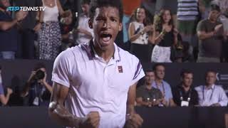 Cuevas, Auger-Aliassime, Djere and Bedene into Rio semi-finals | Rio 2019 Highlights Day 5