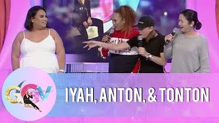 GGV Pre-Show: Anton Diva, Iyah Mina, and Tonton have fun with Negi | #RegineOnGGV