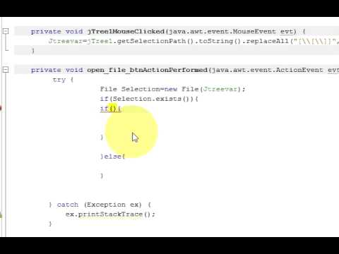 Java prog#132  How to open a file with JTree structure in Netbeans Java